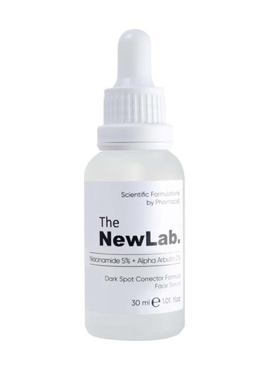 The NewLab Lekeli Ciltler İçin Aydınlatıcı Yüz Serumu Niacinamide 5% + Alpha Arbutin 2%  Renksiz
